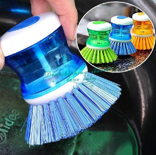 Perie Vase Cu Rezervor Detergent
