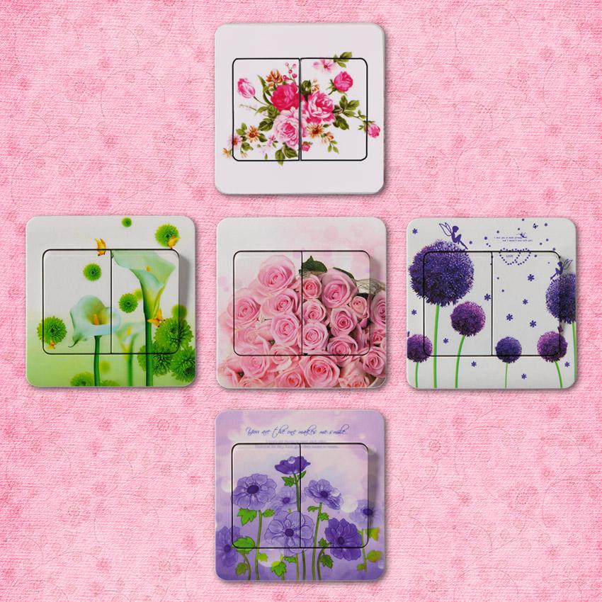 Pachet 10 Stickere Moderne Cu Flori