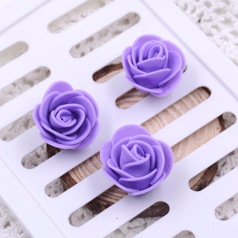 Set 50 Trandafiri Artificiali Din Spuma