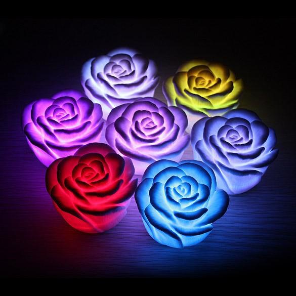 Trandafiri Cu Lumini Superbe | 7 Culori